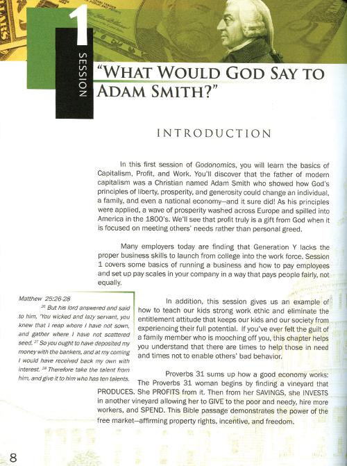 Godonomics Leader's Guide read inside