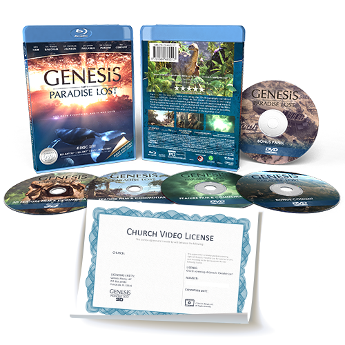 """Genesis: Paradise Lost"" Church Video License"
