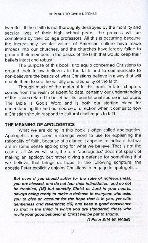 Faith & Reason Made Simple inside