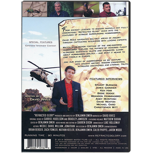 Refracted Glory: Marvels in Every Way DVD back