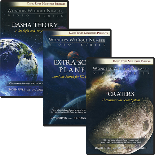 Wonders Without Number: Secrets of the Cosmos DVD Package