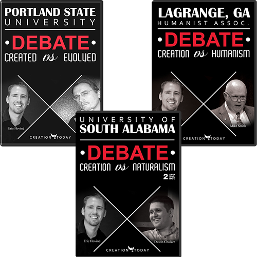 Eric Hovind's Debate Package