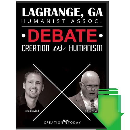 LaGrange, GA Humanist Assoc. Debate: Creation vs Humanism (Video Download)