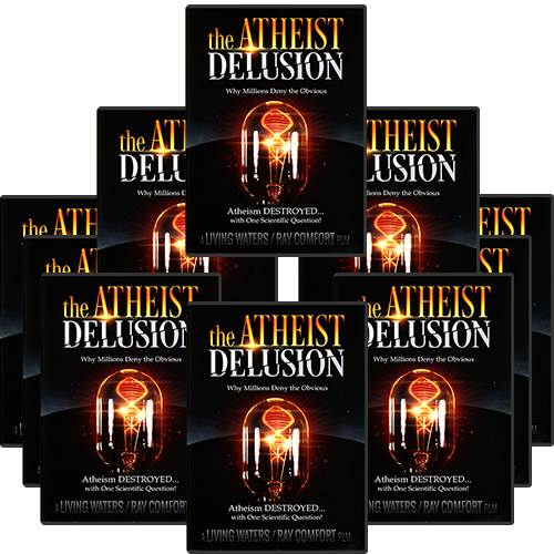 The Atheist Delusion Tract Pack (10 DVDs)