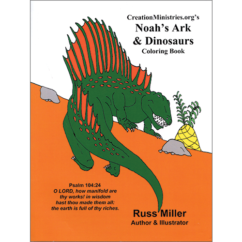 Noah\'s Ark & Dinosaurs Coloring Book – Creation Today