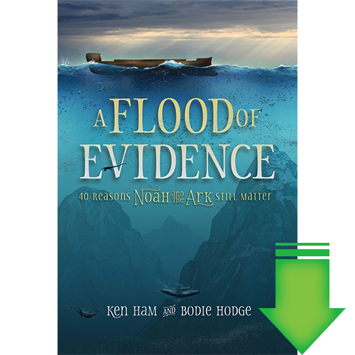 A Flood of Evidence: 40 Reasons Noah & the Ark Still Matter eBook (PDF, MOBI)