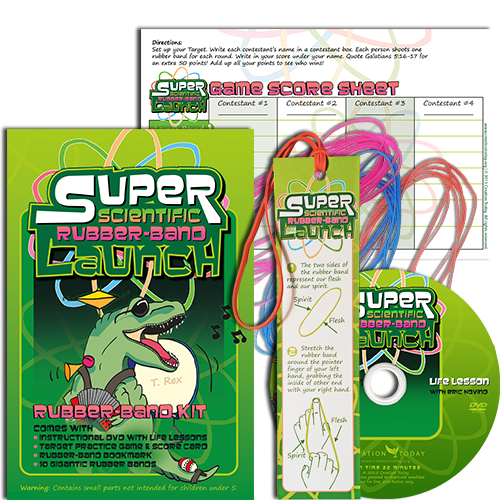 Super Scientific Rubber Band Launch Kit