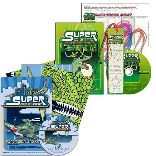 Science Activities Launch Kits with Biblical Life Lessons