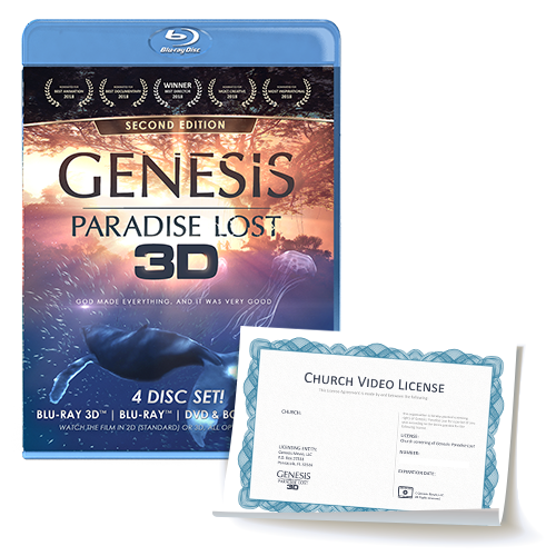 """Genesis: Paradise Lost"" Church Video/Public Showing License"