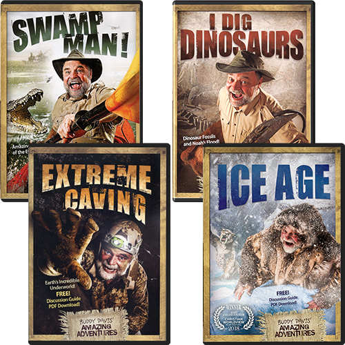 Buddy Davis' Amazing Adventure DVD Package
