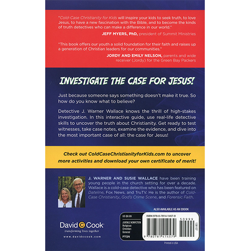Cold-Case Christianity for KIDS back