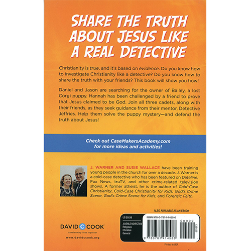 Forensic Faith for KIDS back