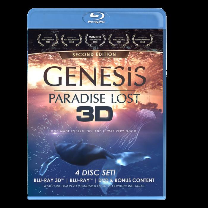 GENESIS: Paradise Lost Blu-ray Combo Pack