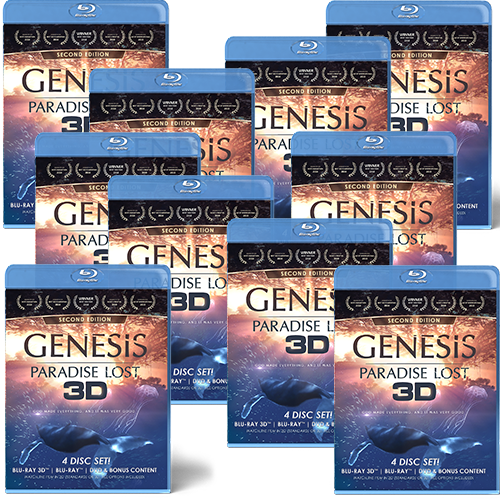 GENESIS: Paradise Lost (3D & 2D Blu-ray, 2D DVD) 10 PACK