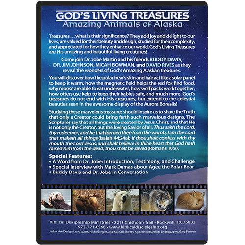 Amazing Animals of Alaska DVD back