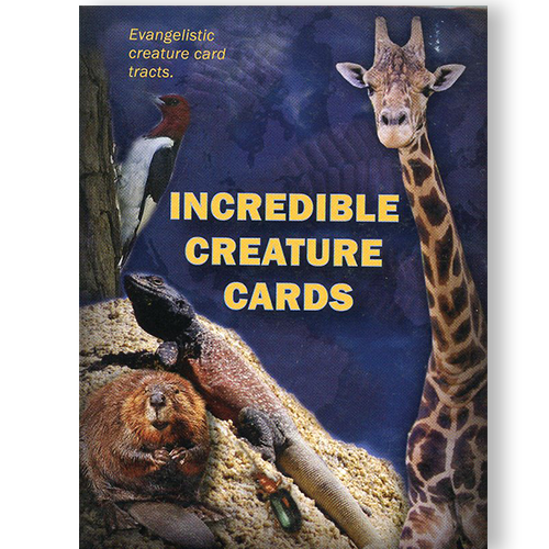 Incredible Creature Creation Tract Cards (50 pack)