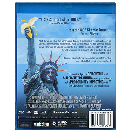 The Fool DVD & Blu-ray back