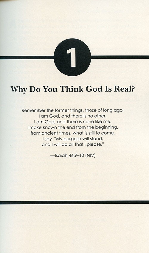 Is God Real? Prove It!: A Child's Defense read inside