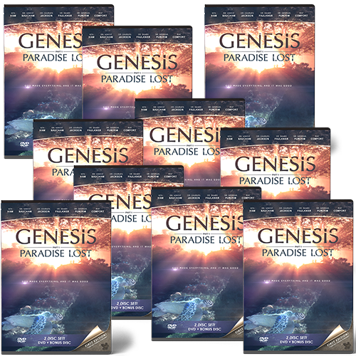 GENESIS: Paradise Lost 2D DVD Set 10 Pack