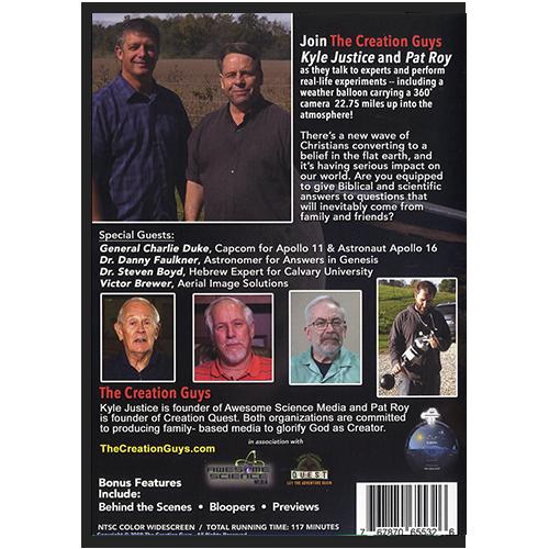Faith on the Edge DVD back