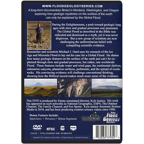 The Receding Floodwaters DVD back