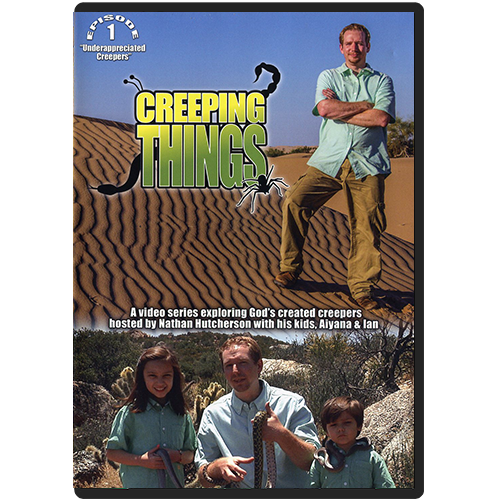 Creeping Things Episode 1: Underappreciated Creepers DVD