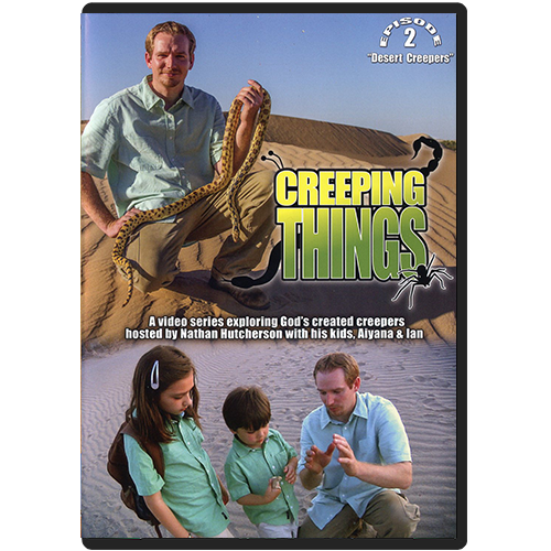 Creeping Things Episode 2: Desert Creepers DVD