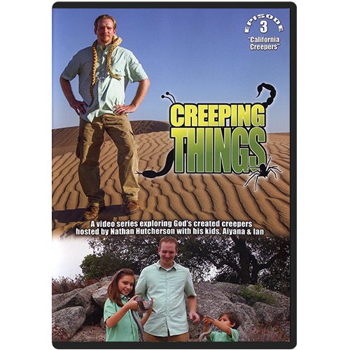 Creeping Things Episode 3: California Creepers DVD