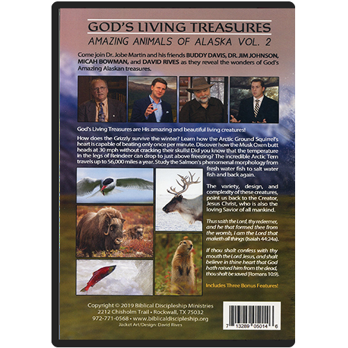Amazing Animals Part 2 DVD back