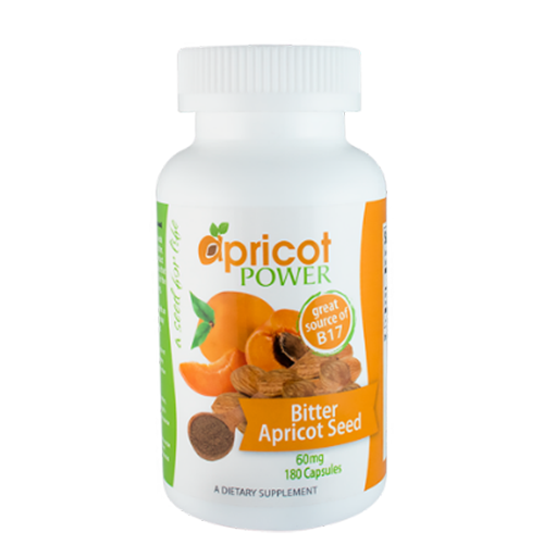 Apricot Seed Capsules 60mg - 100 Count