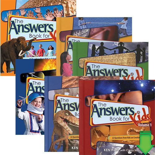 The Answers for Kids eBooks Package