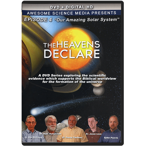 The Heavens Declare: Episode 4 Our Amazing Solar System DVD