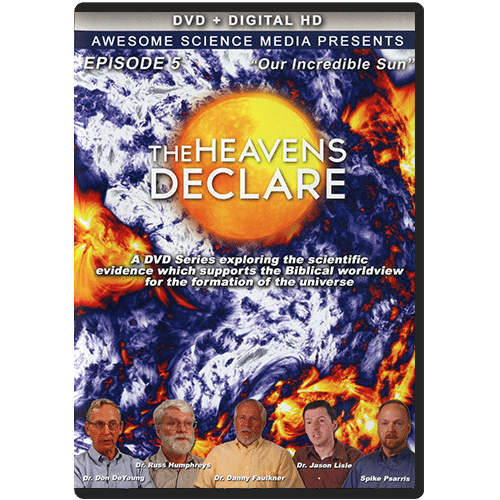 The Heavens Declare: Episode 5 Our Incredible Sun DVD