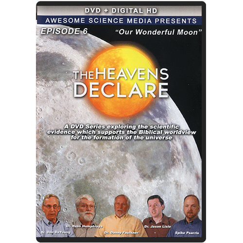 The Heavens Declare: Episode 6 Our Wonderful Moon DVD