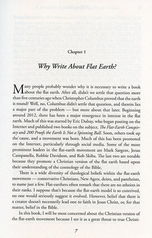 Falling Flat: A Refutation of Flat Earth Claims inside