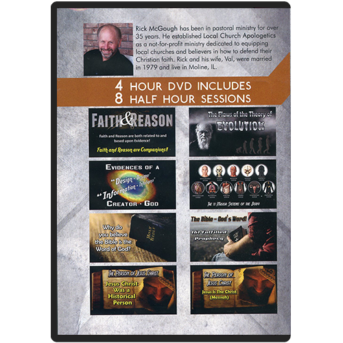 Faith & Reason Made Simple DVD Seminar Series back