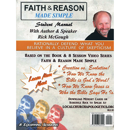 Faith & Reason Made Simple Student Guide back