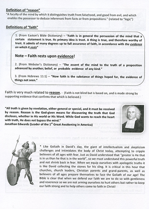 Faith & Reason Made Simple Teacher Guide inside