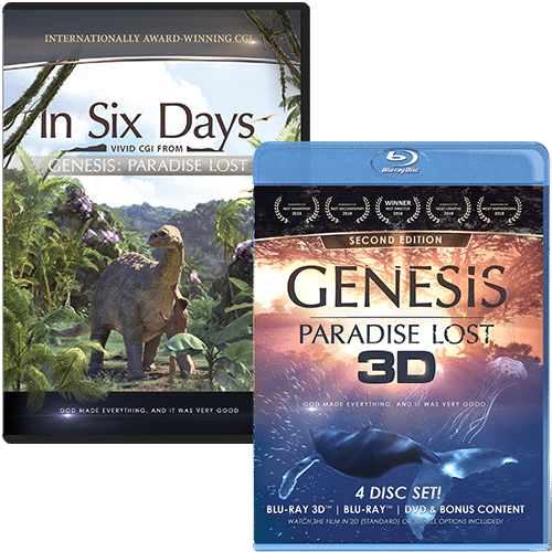 GENESIS: Paradise Lost Blu-ray Combo Pack with FREE In Six Days DVD