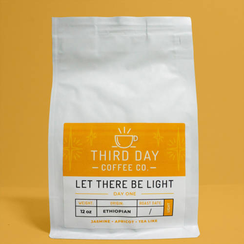 Let There Be Light Product Photo Third Day Coffee