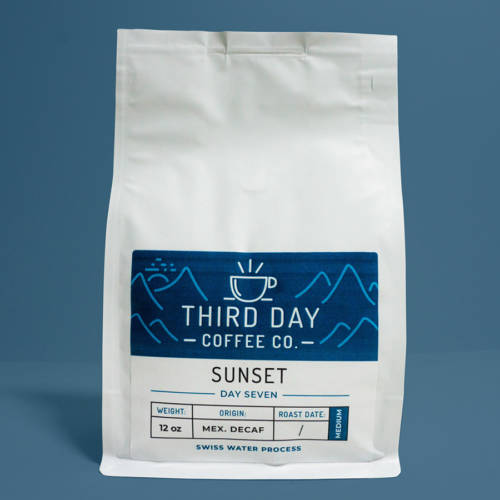 Sunset Product Photo Third Day Coffee