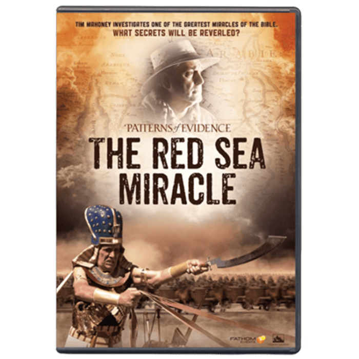 Patterns of Evidence: Red Sea Miracle DVD