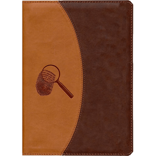 The Evidence Bible (Brown Leather) cover