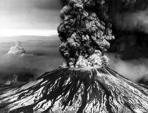 Back to the Future . . . When the World Turned Black and White on Mount St. Helens